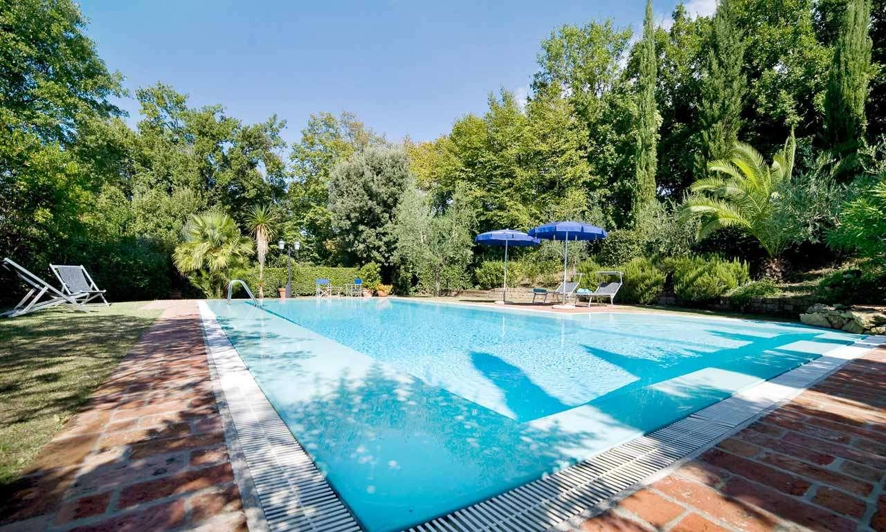 Villa Pool at Villa SAL CPI (La Capinera) at Tuscany, Italy, Family-Friendly, Pool, 2 Bedroom, 3 Bathroom, WiFi, WIMCO Villas