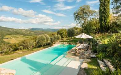 Villa Pool at Villa SAL CPL (Camporempoli) at Tuscany/Chianti, Italy, Family-Friendly, Pool, 6 Bedroom, 5 Bathroom, WiFi, WIMCO Villas
