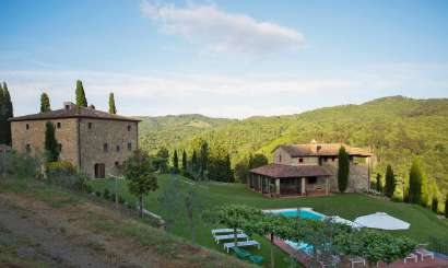 Exterior of Villa SAL MNA (La Maccinaia) at Tuscany/Chianti, Italy, Family-Friendly, Pool, 5 Bedroom, 5 Bathroom, WiFi, WIMCO Villas