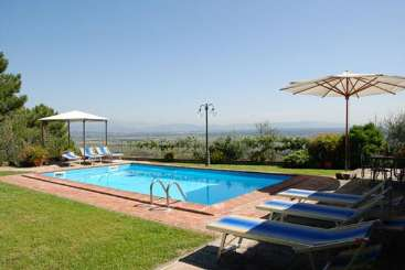 Villa Pool at Villa SAL MNC (Al Mennucci) at Tuscany/Lucca, Italy, Family-Friendly, Pool, 3 Bedroom, 3 Bathroom, WiFi, WIMCO Villas