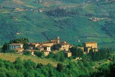 Aerial photo of Villa SAL PDV (Pozza di Volpaia) at Tuscany/Chianti, Italy, Family-Friendly, Pool, 6 Bedroom, 5 Bathroom, WiFi, WIMCO Villas