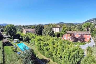 Exterior of Villa SAL ROS (Casa Rosa) at Tuscany/Lucca, Italy, Family-Friendly, Pool, 6 Bedroom, 6 Bathroom, WiFi, WIMCO Villas