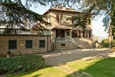 Exterior of Villa SAL VMT (Montoro) at Tuscany/Chianti, Italy, Family-Friendly, Pool, 5 Bedroom, 3 Bathroom, WiFi, WIMCO Villas