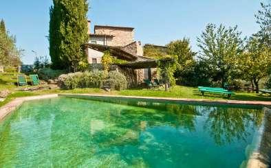 Villa Pool at Villa SAL VOL (Casavecchia Volpaia) at Tuscany/Chianti, Italy, Family-Friendly, Pool, 6 Bedroom, 6 Bathroom, WiFi, WIMCO Villas