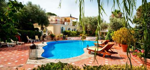 Villa Pool at Villa YPI EDR (Edera) at Amalfi Coast - Capri, Italy, Family-Friendly, Pool, 4 Bedroom, 4 Bathroom, WiFi, WIMCO Villas