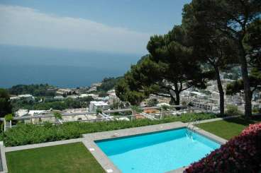 Villa Pool at Villa YPI FOR (Villa Il Fortino) at Amalfi Coast - Capri, Italy, Family-Friendly, Pool, 5 Bedroom, 6.5 Bathroom, WiFi, WIMCO Villas