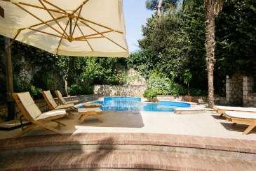 Villa Pool at Villa YPI PIA (Villa Piazzetta) at Amalfi Coast - Capri, Italy, Family-Friendly, Pool, 5 Bedroom, 5 Bathroom, WiFi, WIMCO Villas