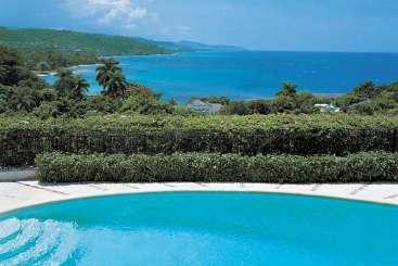 Villa Pool at Villa RHV 2BDP (Round Hill 2 Bedroom Deluxe w/Pool) at Montego Bay, Jamaica, Family-Friendly, Pool, 2 Bedroom, 2 Bathroom, WiFi, WIMCO Villas