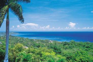 The view from Villa VL BLU (Blue Heaven) at Montego Bay, Jamaica, Family-Friendly, Pool, 3 Bedroom, 2.5 Bathroom, WiFi, WIMCO Villas