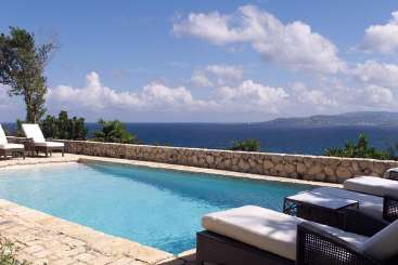 Villa Pool at Villa VL GOA (Goat Hill) at Montego Bay, Jamaica, Pool, 3 Bedroom, 3 Bathroom, WiFi, WIMCO Villas