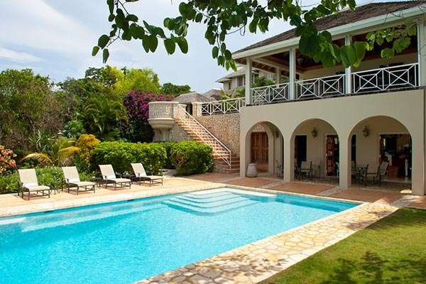 Villa Pool at Villa VL JUS (Jus Paradise) at Montego Bay, Jamaica, Family-Friendly, Pool, 3 Bedroom, 5 Bathroom, WiFi, WIMCO Villas