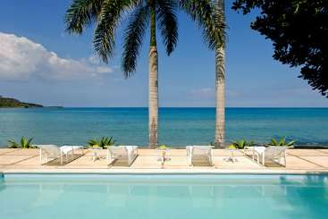 Jamaica Beachfront Villa Serenity on the Beach
