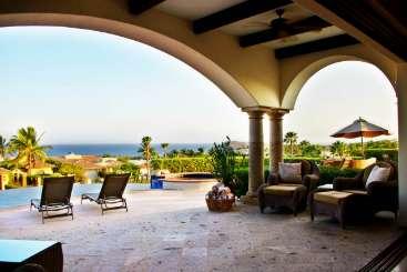 Terrace at Villa LSV CJM (Casa Juan Miguel) at Cabo San Lucas, Mexico, Family-Friendly, Pool, 4 Bedroom, 5 Bathroom, WiFi, WIMCO Villas