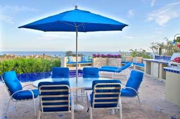 Patio at Villa LSV STA (Casa Stamm) at Cabo San Lucas, Mexico, Family-Friendly, Pool, 4 Bedroom, 4.5 Bathroom, WiFi, WIMCO Villas