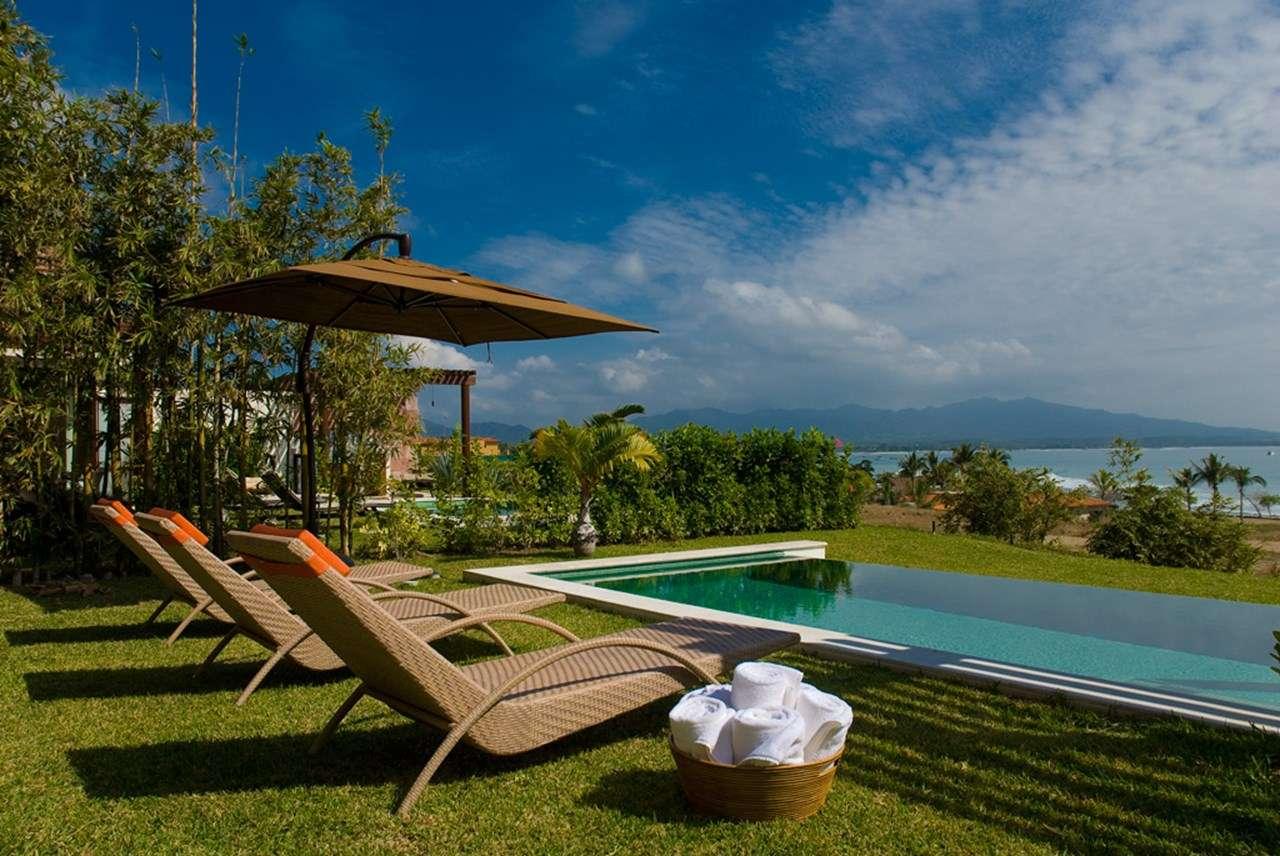 The view from Villa MEX JAD (Jade - Porta Fortuna Villa #7) at Punta Mita, Mexico, Family-Friendly, Pool, 3 Bedroom, 4 Bathroom, WiFi, WIMCO Villas