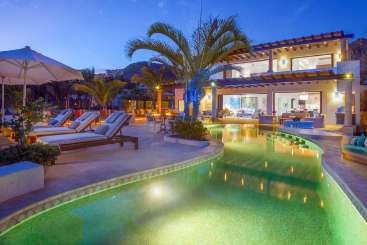 Exterior of Villa MEX PAC (Pacifica) at Cabo San Lucas, Mexico, Family-Friendly, Pool, 5 Bedroom, 4.5 Bathroom, WiFi, WIMCO Villas