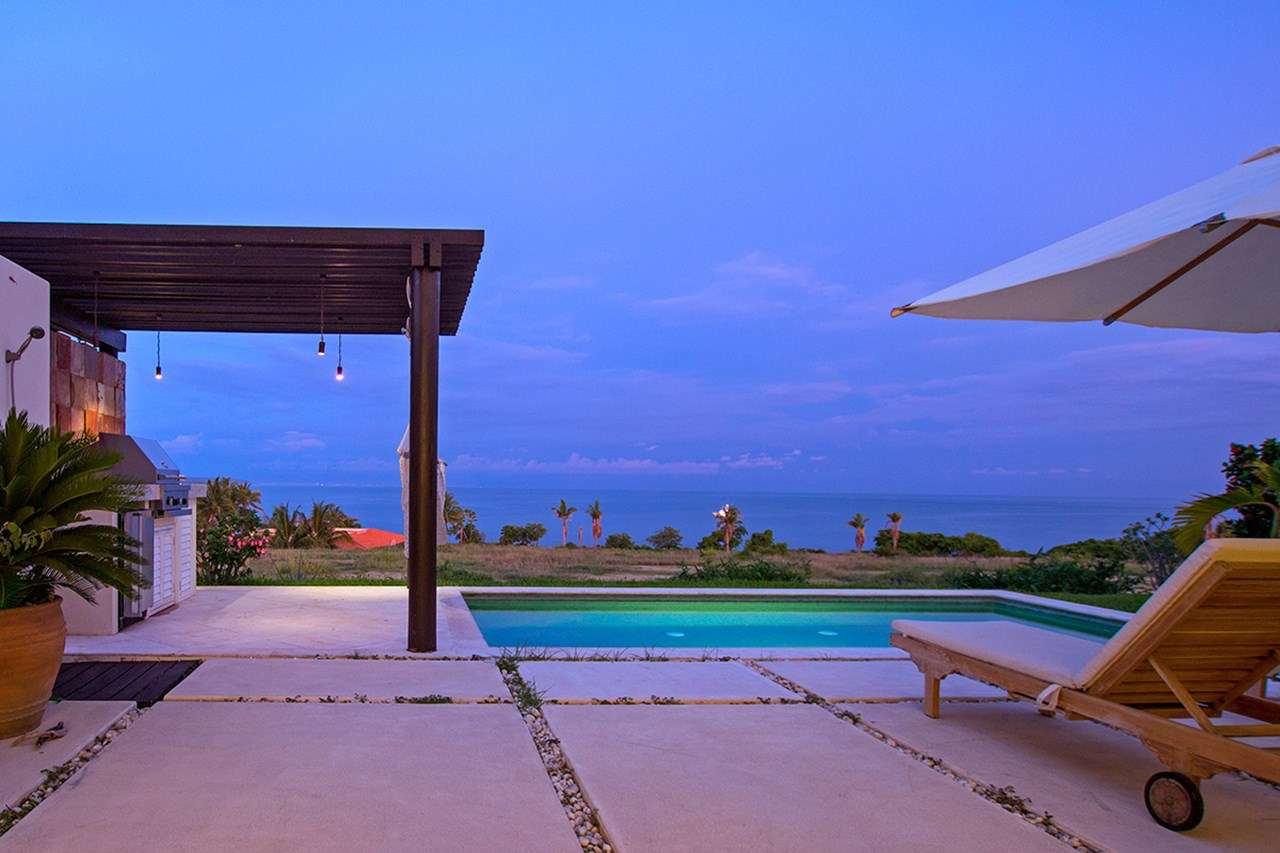 Villa Pool at Villa MEX PER (Perla - Porta Fortuna #9) at Punta Mita, Mexico, Family-Friendly, Pool, 3 Bedroom, 4 Bathroom, WiFi, WIMCO Villas