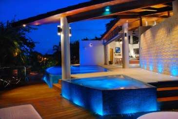 Jacuzzi at Villa ML2 KIT (Kite House) at Playa Del Carmen, Mexico, Family-Friendly, Pool, 4 Bedroom, 5 Bathroom, WiFi, WIMCO Villas