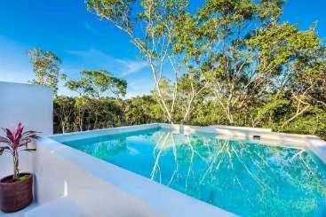 Villa Pool at Villa ML3 ADA (Adama) at Tulum, Mexico, Family-Friendly, Pool, 5 Bedroom, 5 Bathroom, WiFi, WIMCO Villas