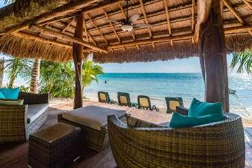 Terrace at Villa ML3 MST (Moonstar) at Tulum, Mexico, Family-Friendly, Pool, 5 Bedroom, 5 Bathroom, WiFi, WIMCO Villas