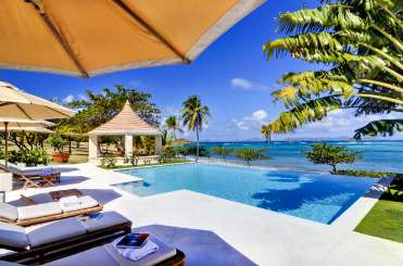 Mustique Villa with Staff Seascape