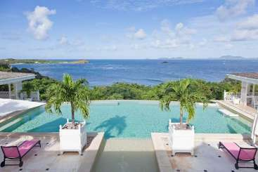 Mustique Villa with Staff Frangipani