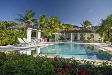 Mustique Tennis Villa Grasshopper