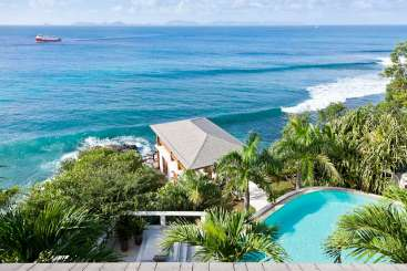 Exterior of Villa MV HER (Heron Bay) at Hillside, Mustique, Pool, 2 Bedroom, 2.5 Bathroom, WiFi, WIMCO Villas