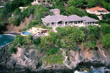 Mustique Romantic Retreat, Honeymoon Villa Serenity Bay