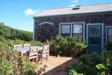 Terrace at Villa NAN MAD (MAD) at Madequecham, Nantucket, Family-Friendly, No Pool, 3 Bedroom, 2 Bathroom, WiFi, WIMCO Villas