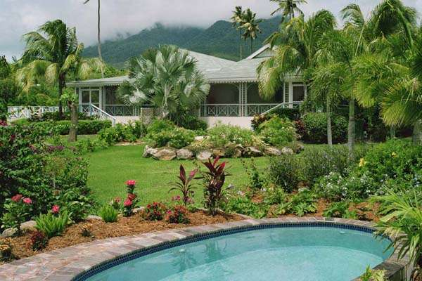 Exterior of Villa FSN 2PP (Four Seasons Palm Grove 2BD w/Plge Pool) at Walk/Pinneys Beach, Nevis, Family-Friendly, Pool, 2 Bedroom, 2 Bathroom, WiFi, WIMCO Villas