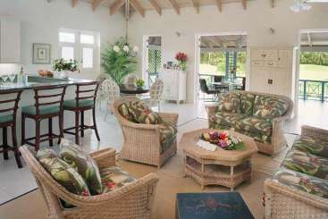 Living Room at Villa FSN 3PP (Four Seasons Palm Grove 3Bed w/ Plg Pool) at Walk/Pinneys Beach, Nevis, Family-Friendly, Pool, 3 Bedroom, 3 Bathroom, WiFi, WIMCO Villas
