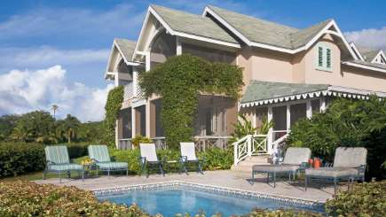 Villa Pool at Villa FSN 6PG (Palm Grove 6 BR at Four Seasons) at Walk/Pinneys Beach, Nevis, Family-Friendly, Pool, 6 Bedroom, 6 Bathroom, WiFi, WIMCO Villas