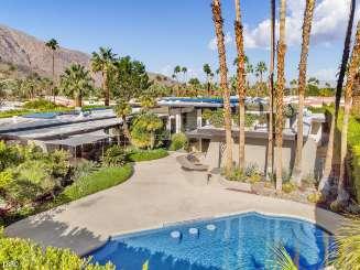 Villa Pool at Villa PSR CSC (Casa Colibri) at Palm Springs, Palm Springs, Family-Friendly, Pool, 3 Bedroom, 5 Bathroom, WiFi, WIMCO Villas