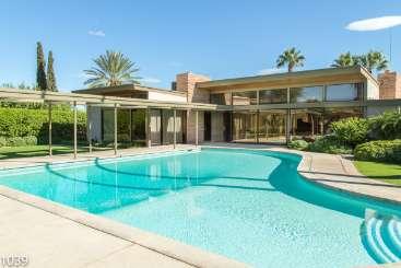 Villa Pool at Villa PSR FSE (Frank Sinatra Estate) at Palm Springs, Palm Springs, Family-Friendly, Pool, 4 Bedroom, 6 Bathroom, WiFi, WIMCO Villas