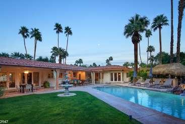 Villa Pool at Villa PSR MDS (Maison du Soleil) at Palm Springs, Palm Springs, Family-Friendly, Pool, 4 Bedroom, 4.5 Bathroom, WiFi, WIMCO Villas