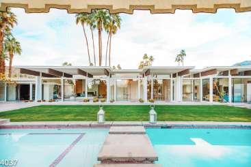 Villa Pool at Villa PSR SRA (Villa Sierra) at Palm Springs, Palm Springs, Family-Friendly, Pool, 4 Bedroom, 4 Bathroom, WiFi, WIMCO Villas