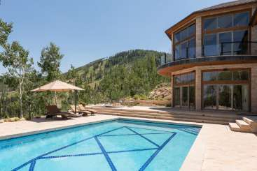 Villa Pool at Villa PKC SKY (Sky Villa) at Park City, Park City, Family-Friendly, Pool, 6 Bedroom, 10 Bathroom, WiFi, WIMCO Villas