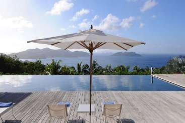 The view from Villa WV BOW (Hill House) at Camaruche, St. Barthelemy, Family-Friendly, Pool, 4 Bedroom, 5 Bathroom, WiFi, WIMCO Villas