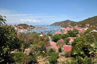 The view from Villa WV PUL (Colony Club A4) at Gustavia, St. Barthelemy, Family-Friendly, Pool, 1 Bedroom, 1 Bathroom, WiFi, WIMCO Villas