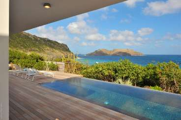 Villa Pool at Villa WV ABS (Eranos) at Anse des Cayes, St. Barthelemy, Family-Friendly, Pool, 2 Bedroom, 2 Bathroom, WiFi, WIMCO Villas