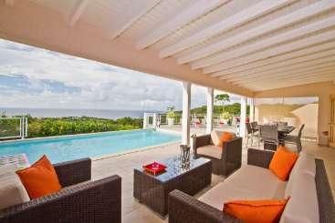 St Barths Caribbean Villa Special, VillaAu Coeur du Rocher