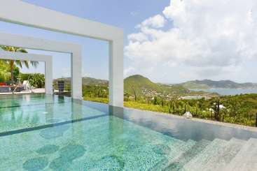 St Barths Romantic Retreat, Honeymoon Villa Agave
