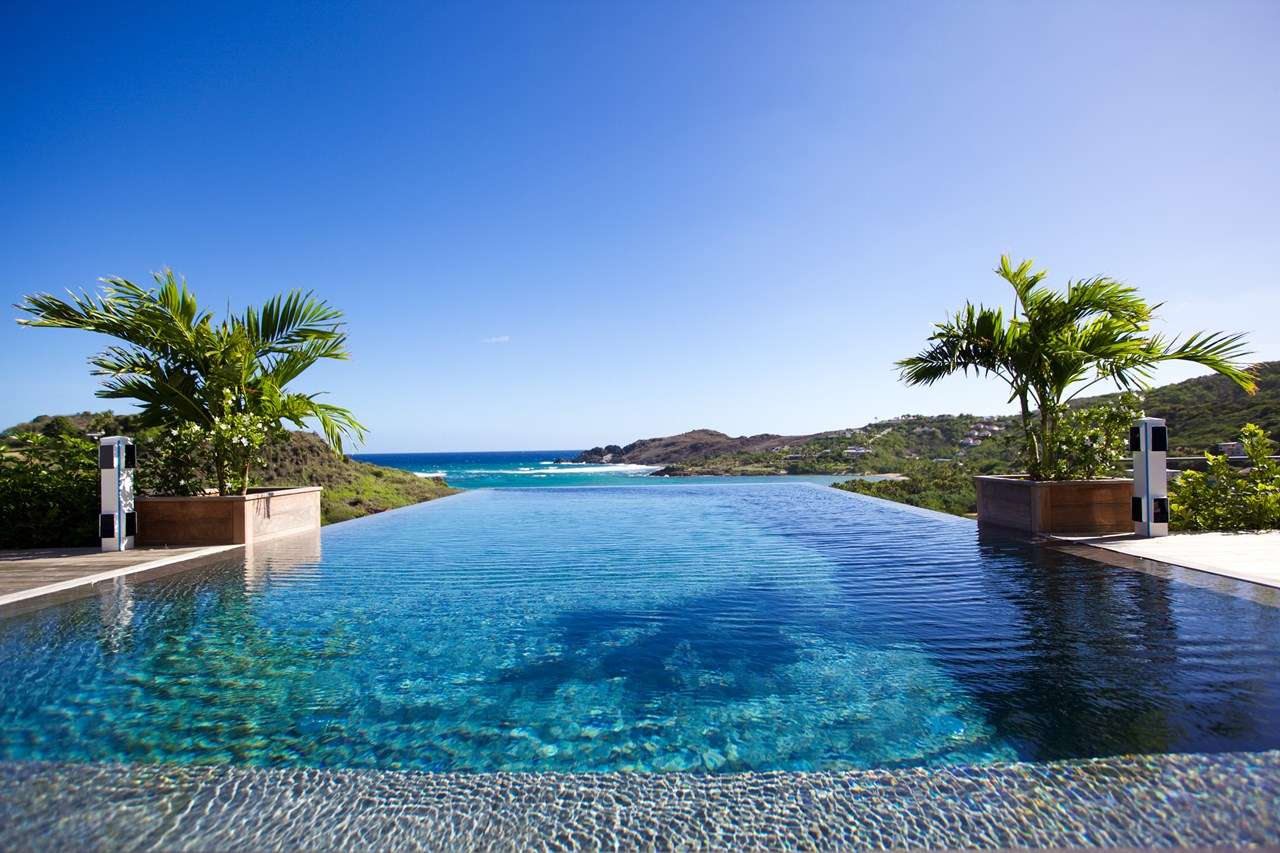 Villa Pool at Villa WV AMT (Amethyste) at Petit Cul de Sac, St. Barthelemy, Family-Friendly, Pool, 2 Bedroom, 3 Bathroom, WiFi, WIMCO Villas