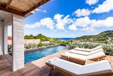 St Barths Caribbean Villa Special, VillaAu Paille En Queue