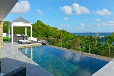 Villa Pool at Villa WV AYA at St. Jean, St. Barthelemy, Family-Friendly, Pool, 2 Bedroom, 2 Bathroom, WiFi, WIMCO Villas