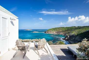 The view from Villa WV BBE (Little Caramba) at Pointe Milou, St. Barthelemy, Family-Friendly, Pool, 1 Bedroom, 1 Bathroom, WiFi, WIMCO Villas