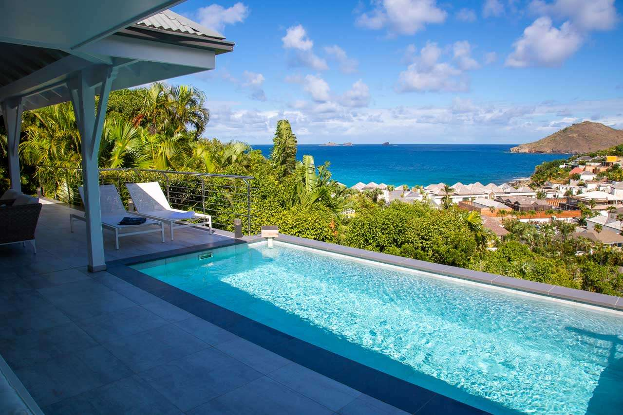 Villa Pool at Villa WV BLC (BEL ROC) at Flamands, St. Barthelemy, Family-Friendly, Pool, 2 Bedroom, 2 Bathroom, WiFi, WIMCO Villas