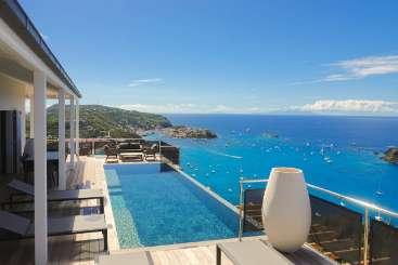 St Barths Romantic Retreat, Honeymoon Villa Belharra