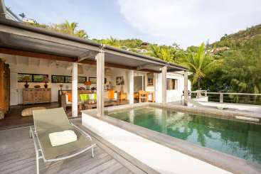 St Barths Romantic Retreat, Honeymoon Villa Phoenix